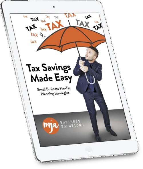 tax planning eBook cover